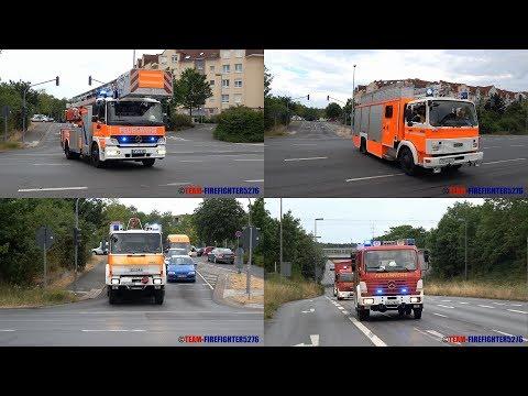 [2 Perspektiven] Unangekündigte Alarmübung Tiefgaragenbrand in Dietzenbach