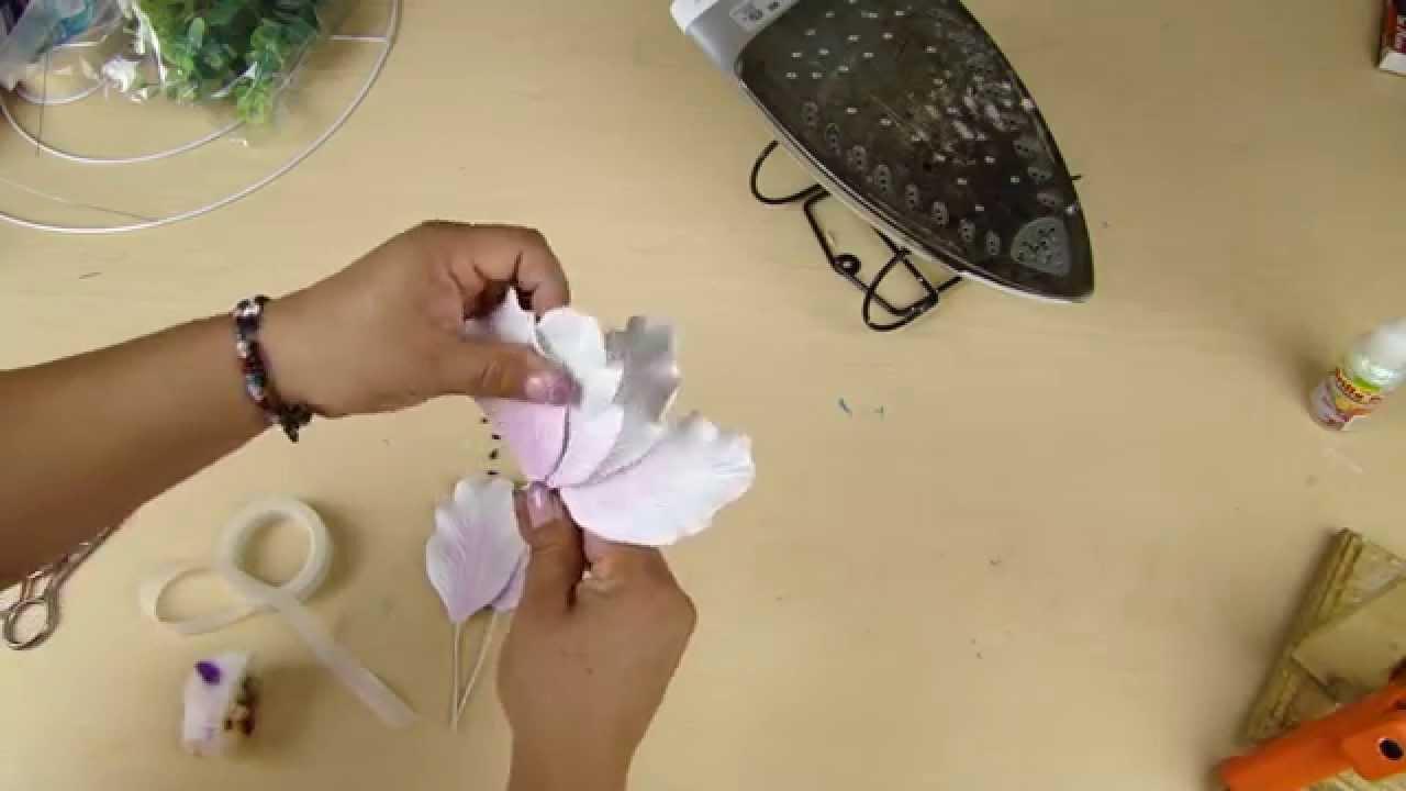 Arreglo medall n para bodas manualidad de foamy - Mesas de centro que se elevan ...