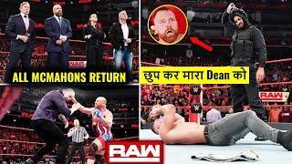 McMahon Family RETURNS ! Seth BEATS Dean ! Kurt Angle END Corbin WWE Raw 17 December 2018 Highlights