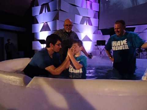 Braydens Baptism 2013