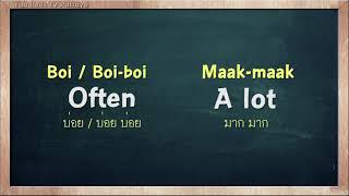 THAI TIME EP.70 Learn to speak thai, read thai, write thai  Thai lesson