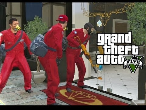 GRAND THEFT AUTO 5 - The Jewel Store Job (Mission/Walkthrough - Smart Approach)