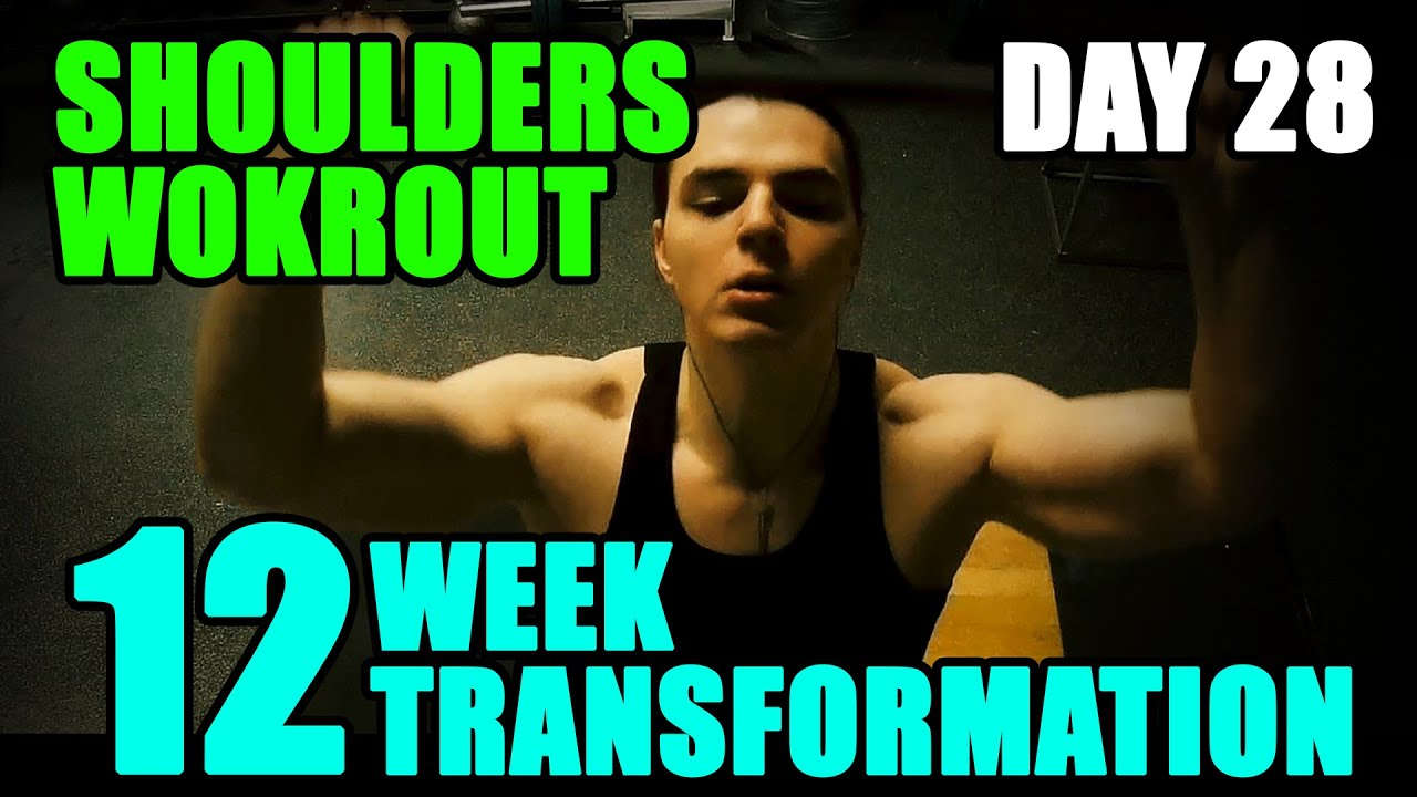 Arnold schwarzeneggers blueprint to cut shoulders l 12 week arnold schwarzeneggers blueprint to cut shoulders l 12 week transformation challenge l day 28 youtube malvernweather Images