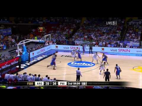 Argentina vs Philippines FIBA World Cup 2014 Group B