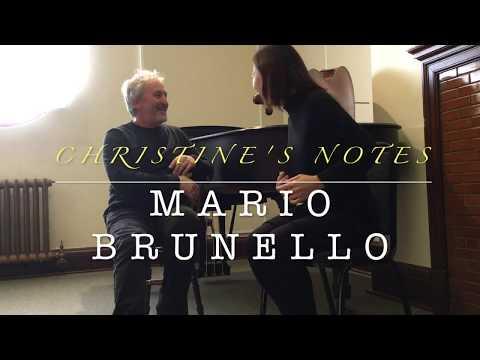 Christine's Notes 🎵- Mario Brunello