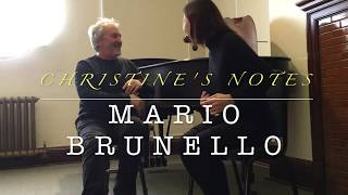 Christine's Notes 🎵- Mario Brunello