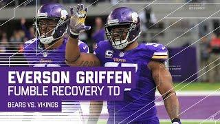 Everson Griffen Returns Matt Barkley's Fumble for a TD!   NFL Week 17 Highlights