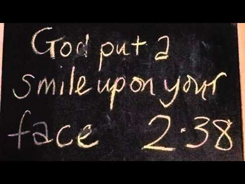 God Put A Smile Upon Your Face
