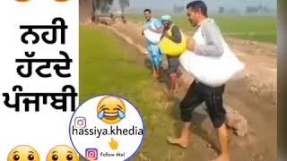 Punjabi funny tiktok video whatsapp status