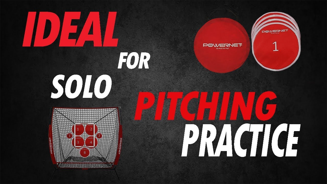 71b424580 PowerNet Pitch Perfect Targets, 5x5 Practice Net and Strike Zone Attachment  Bundle