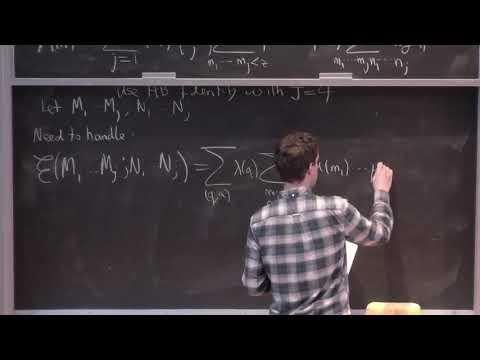 Ian Petrow (ETH Zürich) 4/4 - Kuznetsov Formula, Kloostermania and Applications [2017]
