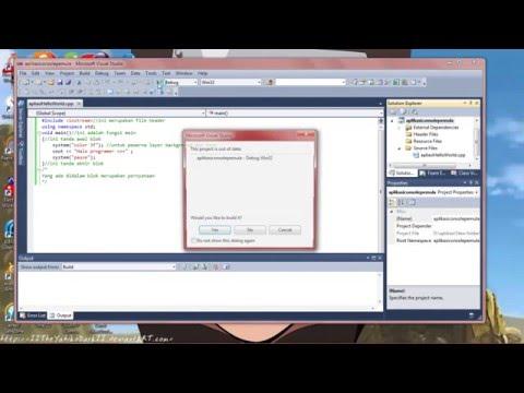 Cara Belajar Pemrograman C++