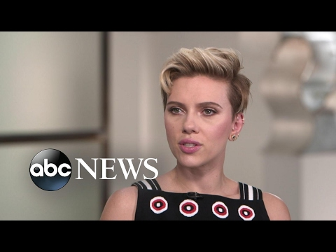 Scarlett Johansson opens up about 'Ghost in the Shell'