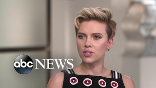Scarlett Johansson opens up about