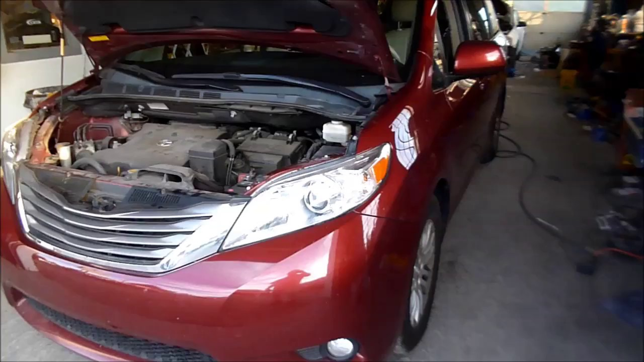 toyota sienna 2012 manual