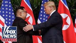 Trump makes history in North Korea