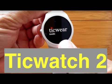 TicWatch 2 Smartwatch Direct from China: Unboxing & 1st Look - 동영상