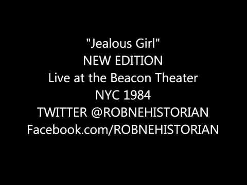 New Edition [Jealous Girl] Live 1984