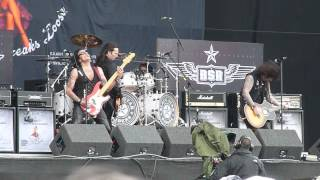 Black Star Riders - Bound For Glory, live @ Download Festival 2013