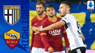 Parma 2-0 Roma | Late Cornelius Goal Seals the Win for Parma! | Serie A