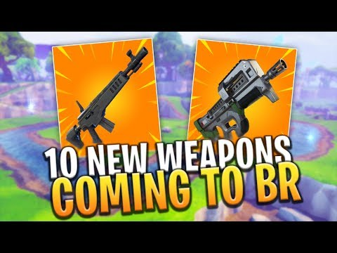 10 NEW INSANE Weapons Coming To Fortnite in FUTURE UPDATE! - Fortnite: Battle Royale