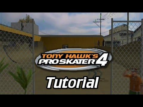 Xin Plays: Tony Hawk's Pro Skater 4 (PS2): Part 1: Tutorial