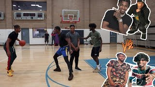 2 V 2 BASKETBALL MATCH . CHARC & TY VS DDG & VON * they played for my HEART *