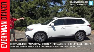 2016 Mitsubishi Outlander Review on Everyman Driver