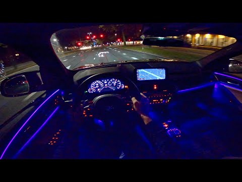 BMW X3M Competition | NIGHT DRIVE POV | AMBIENT LIGHTING by AutoTopNL