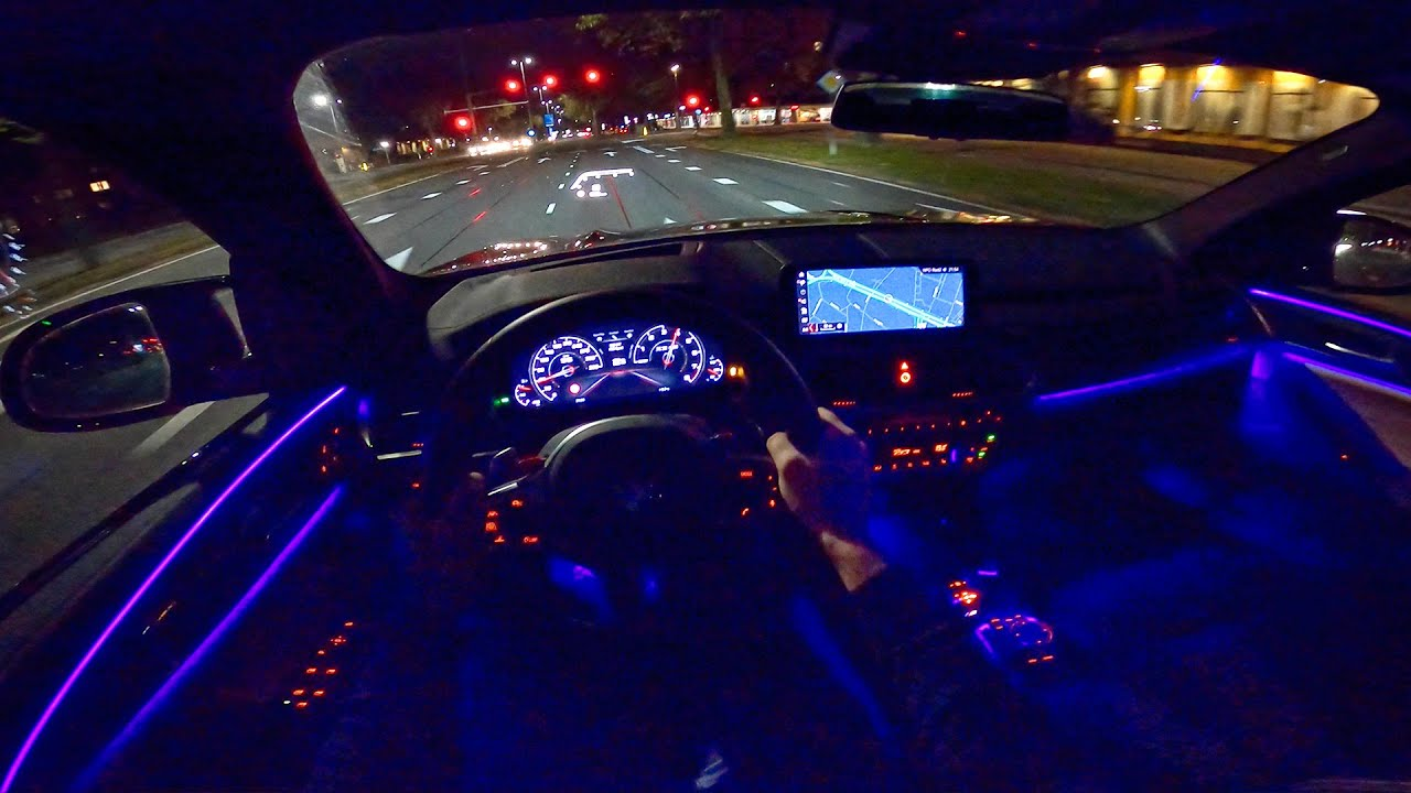 bmw x3m competition night drive pov ambient lighting by autotopnl