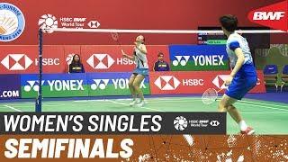 SF | WS | ZHANG Beiwen (USA) vs. CHEN Yu Fei (CHN) [3] | BWF 2019