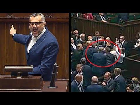 Haniebny atak agresywnego Tomasza Lenza z Platformy na posła!