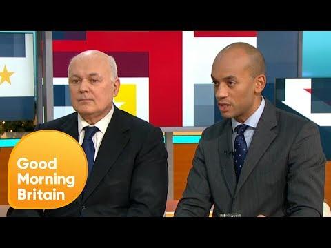 Iain Duncan Smith and Chuka Umunna React to Theresa May's Leadership Contest | Good Morning Britain