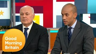 Iain Duncan Smith and Chuka Umunna React to Theresa May's Leadership Contest | Good Morning Britain