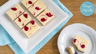 Чизкейк с Сердечками из Джема | Cheesecake with Jam | Tanya Shpilko