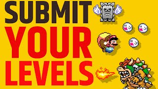 Super Mario Maker - Submit your Levels and Let's Play!