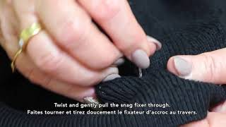 How To: Fix Snags on all Fabrics