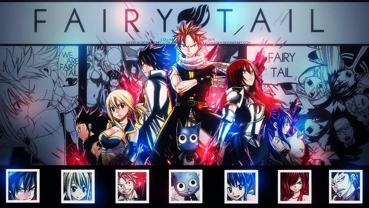 Fairy Tail Opening 17 Mysterious Magic Full Extended Version Full Hd
