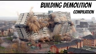 Building Demolition Compilation
