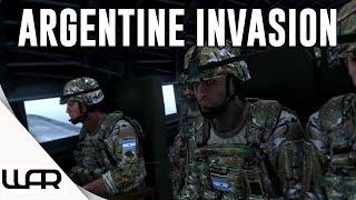 ARGENTINE INVASION - Second Falklands War - Alternate History - Arma 3 - Episode 1