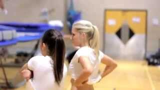 man with the best job in the world trampoline trainer hd