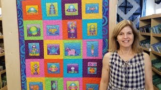 Panel Quilting Made Easy!