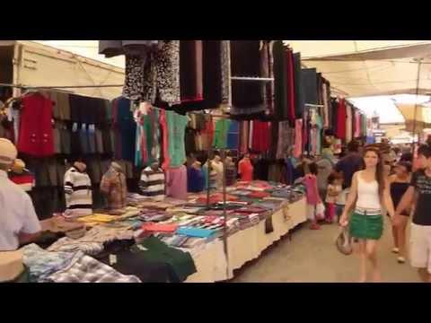 A Walk Through Fethiye Market In Turkey. 2013