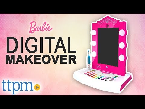 Barbie Digital Makeover App [REVIEW] | Mattel Toys & Games