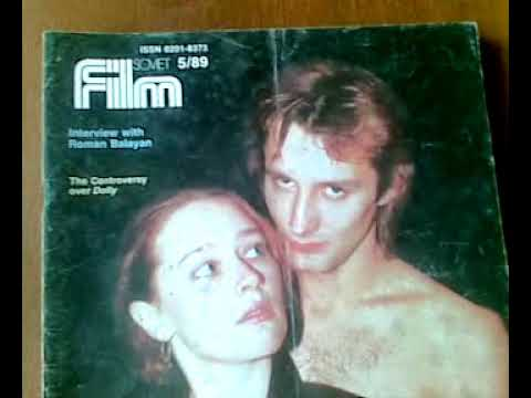 """SOVIET FILM""-A magazine about ""Russian cinema""."