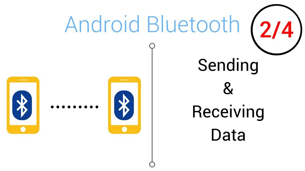 Bluetooth Tutorial - Sending/Receiving Data with Bluetooth (Part 2/4)