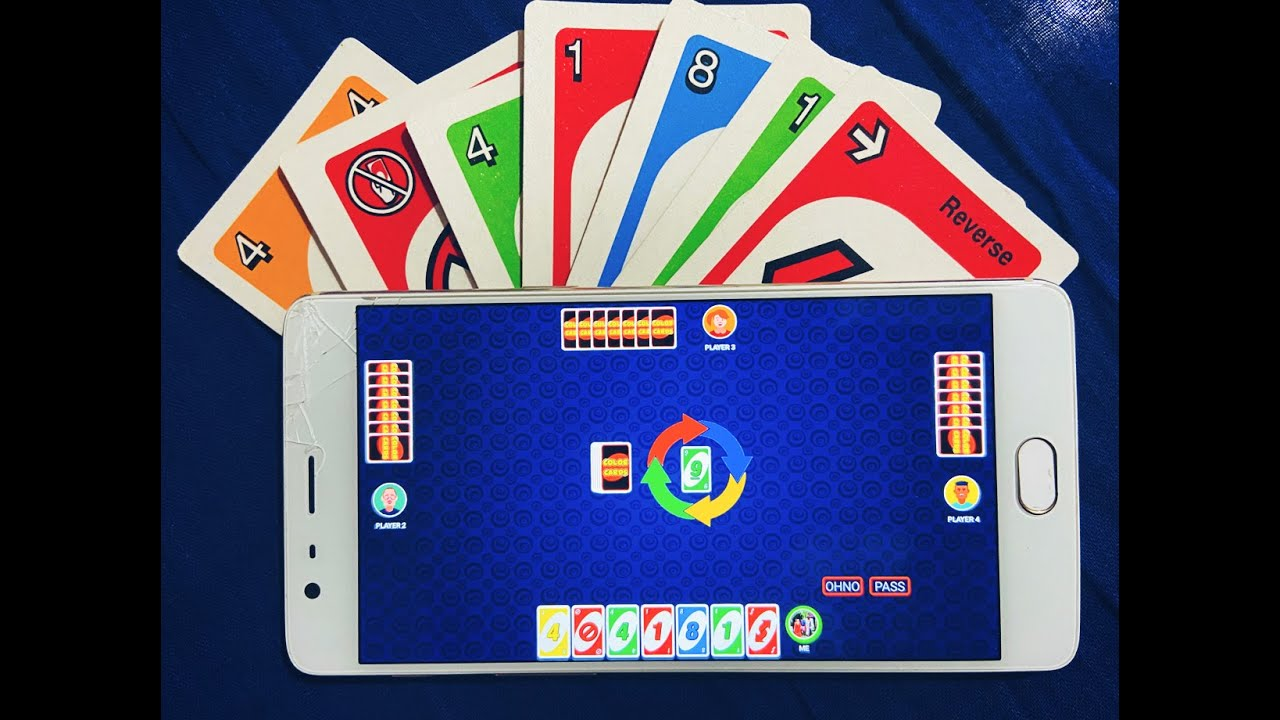 Color Cards Game | Online Multiplayer & Offline | Mobile ...