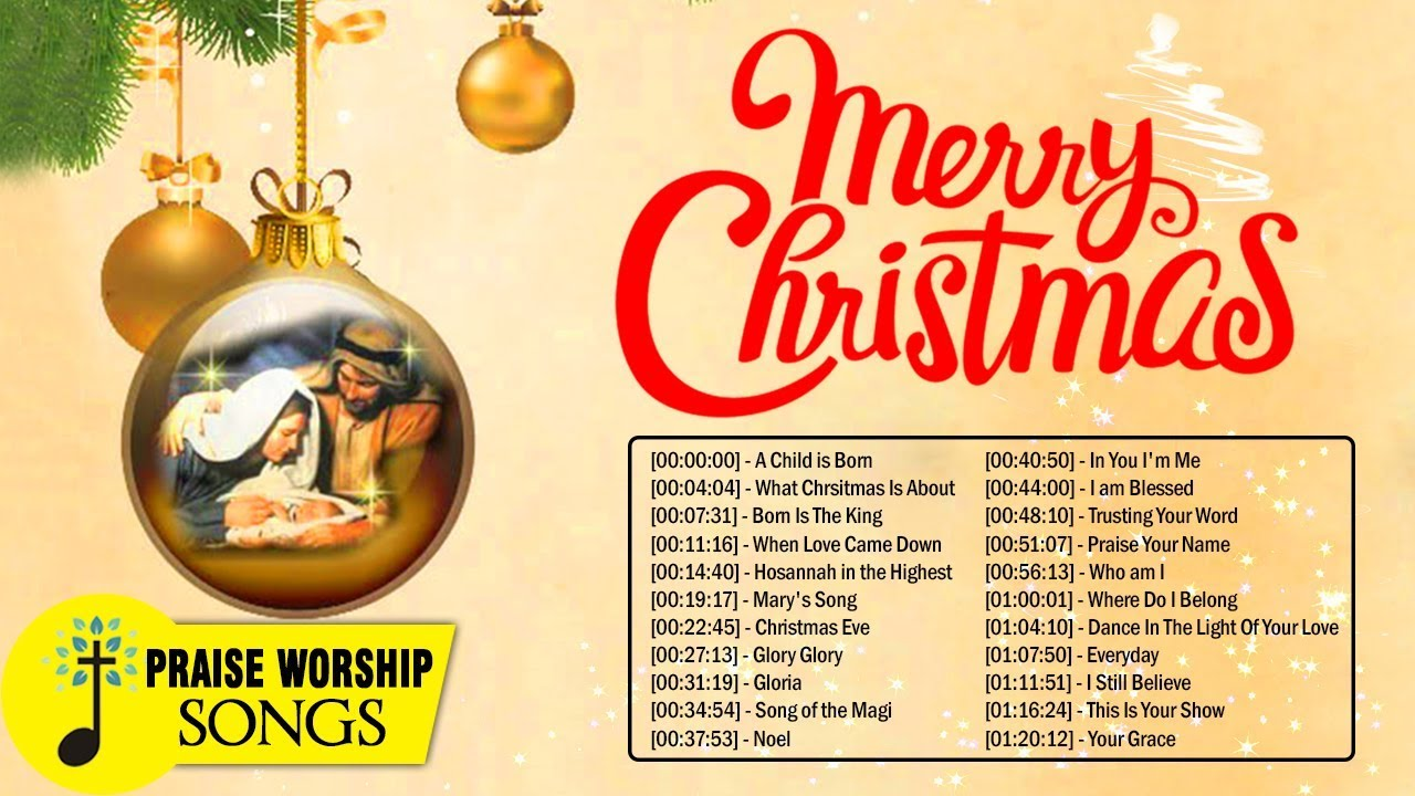 New Merry Christmas Songs 2020   Listen To Top 100 Christian