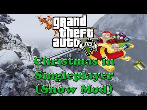 Christmas in Singleplayer (Snow Mod) 1.01