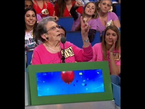 "99 year old grandma Fern on ""The Price is Right"""
